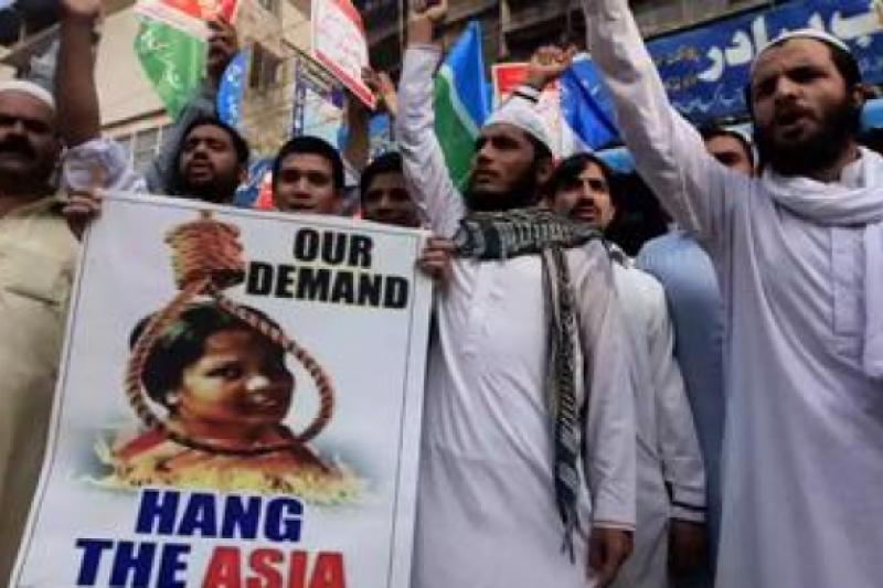 Asia Bibi pide asilo en España