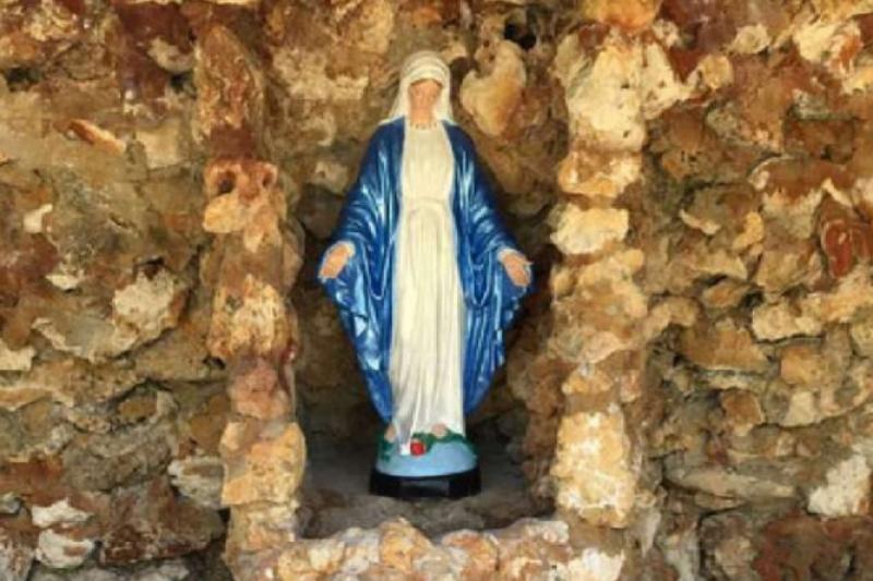 Encuentran y restauran Santuario Mariano olvidado entre la vegetación