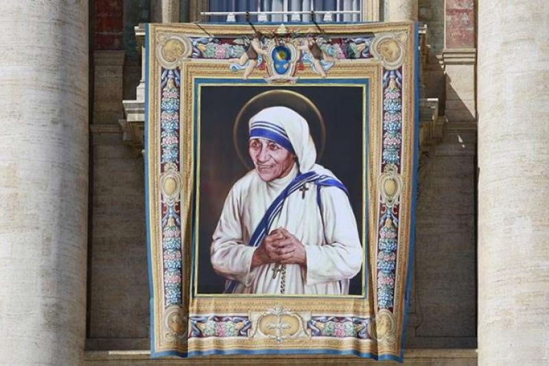 Un día como hoy fue canonizada la Madre Teresa de Calcuta
