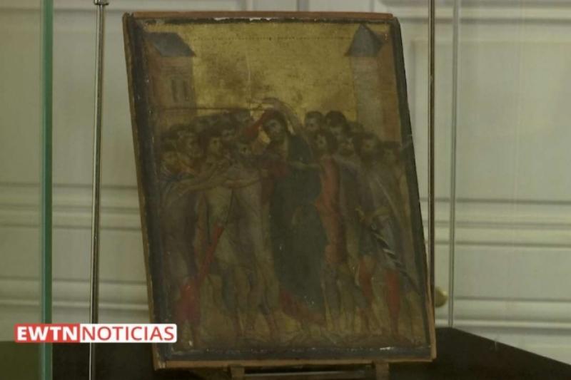 Un cuadro de Cristo encontrado en una casa de Francia vale millones de euros