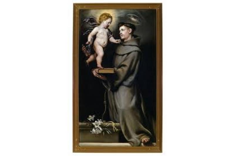 San Antonio de Padua pintado por Claudio Coello