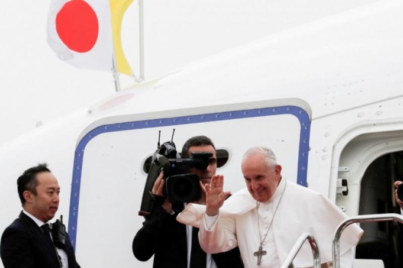 Finaliza el 32º viaje apostólico del Papa Francisco