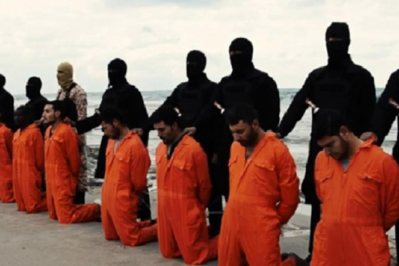 Lo que nunca vimos del vídeo de la ejecución de 21 cristianos egipcios