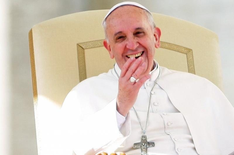 El origen del buen humor del Papa Francisco