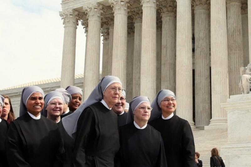 Victoria para las Hermanitas de los Pobres en la Corte Suprema de EEUU