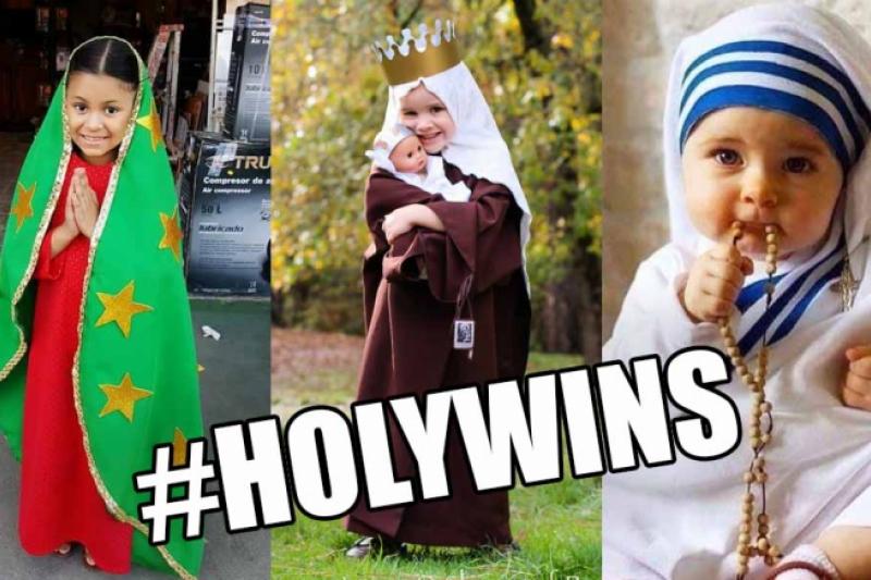 Más de 20 parroquias de diócesis en España se unirán a la celebración de Holywins. holywins-halloween