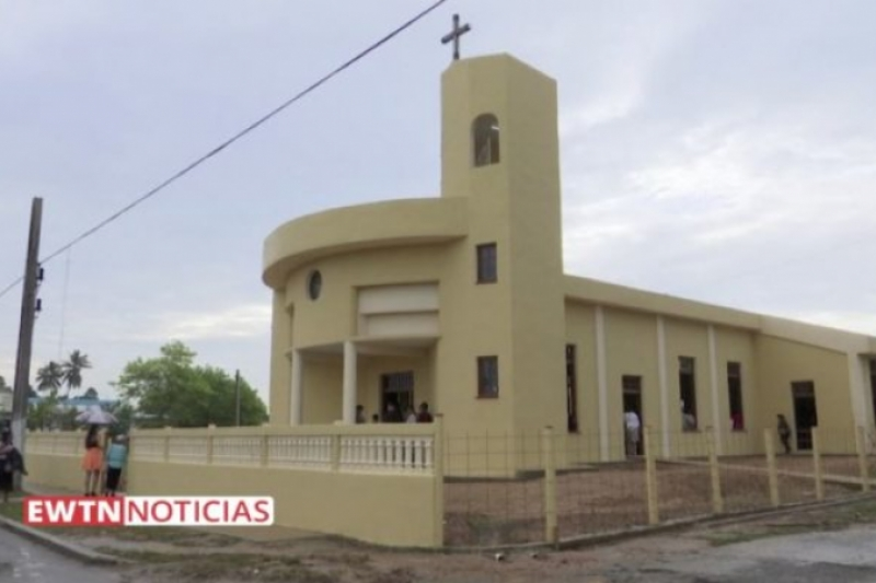 Se construye en Cuba el primer templo católico desde la «Revolución»
