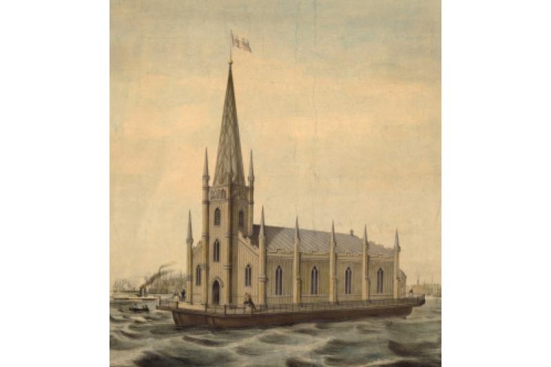 La historia de las Iglesias flotantes
