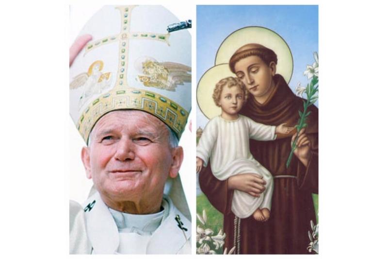 ¿Tuvo oportunidad San Juan Pablo II de expresar su devoción especial a San Antonio?