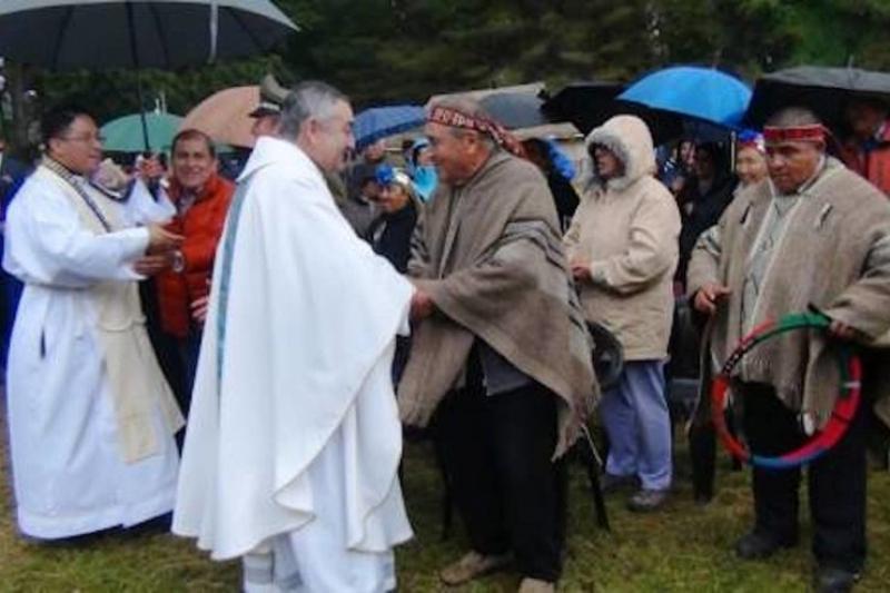 Incendiaron otra Iglesia en Chile, ceca de donde irá el Papa Francisco