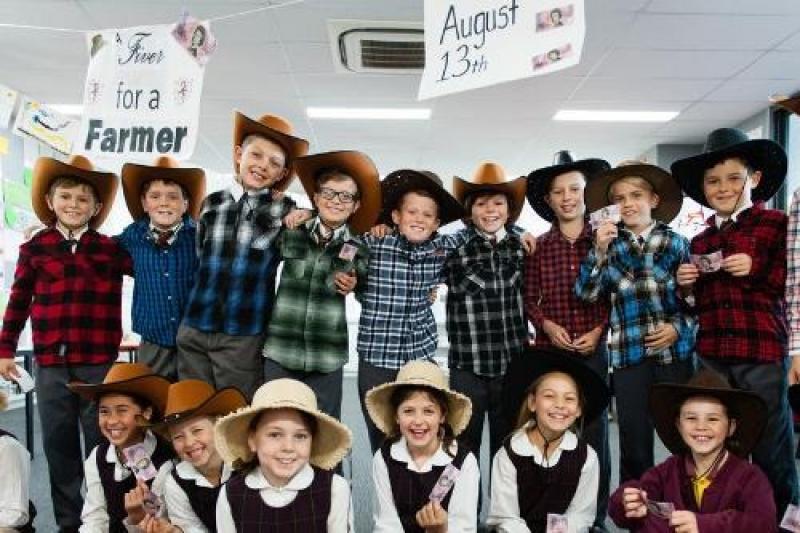 Un niño de una escuela católica de Australia recauda un millón de dólares para damnificados de sequía.