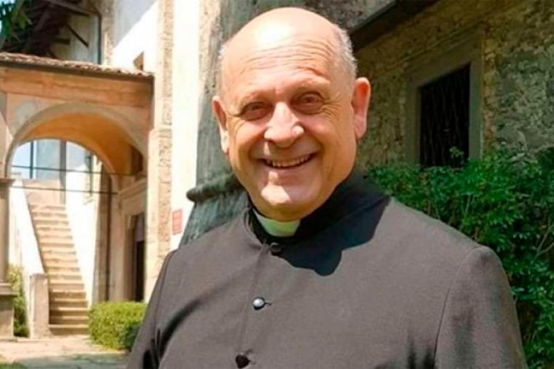 Sacerdote italiano con coronavirus renuncia al respirador para salvar la vida de un joven