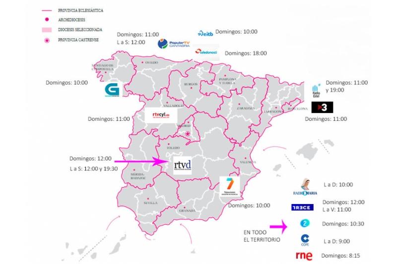 Ante el Coronavirus. Misas en Radio y Televisión en España