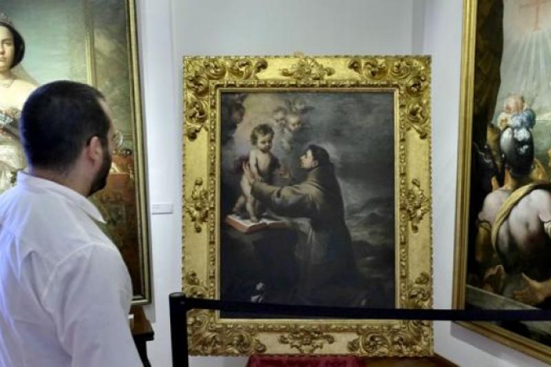 'San Antonio con el Niño' de Murillo