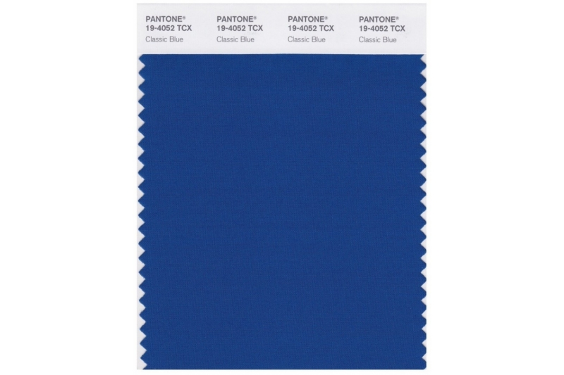 Azul clásico: el color del año 2020