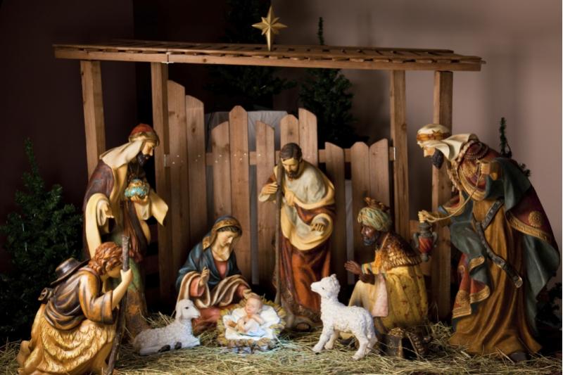 La tradici n del pesebre de navidad el pan de los pobres - Nacimiento para navidad ...
