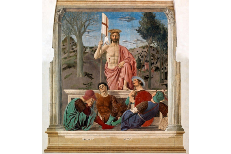Restauran la pintura más bella del mundo
