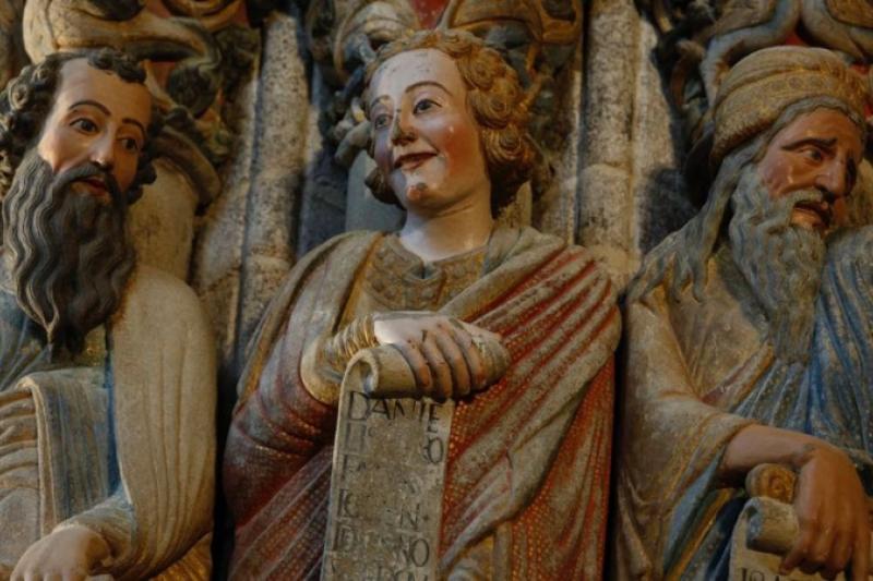 El Pórtico de la Gloria de Santiago de Compostela recupera su esplendor