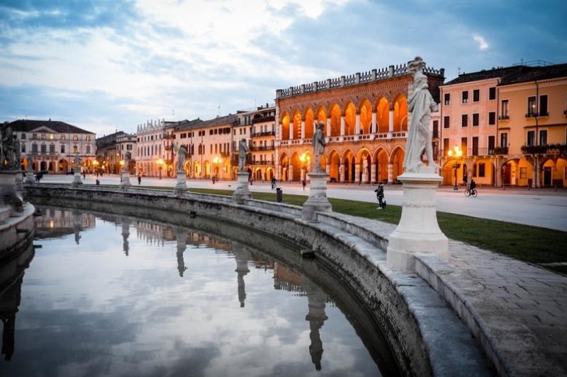 Padua, tan bella como cautivadora