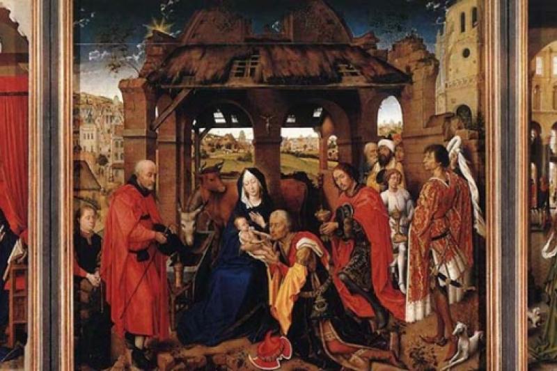 Dibujos Impresionantes De Navidad.10 Impresionantes Pinturas Sobre La Navidad El Pan De Los