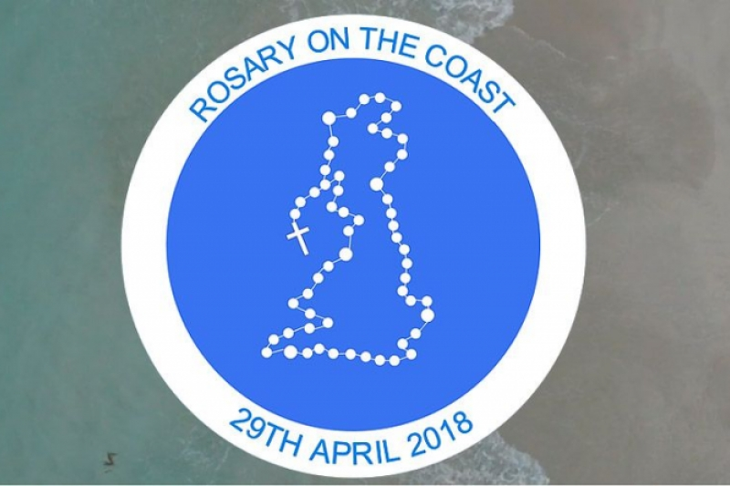 Rosary on the coast en Inglaterra