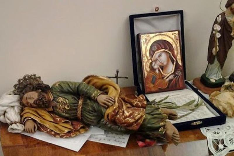El San José dormido que el Papa Francisco guarda en su habitación