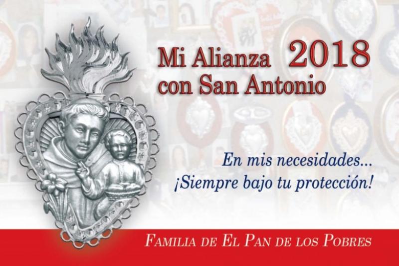 Mi alianza 2018 con San Antonio de Padua