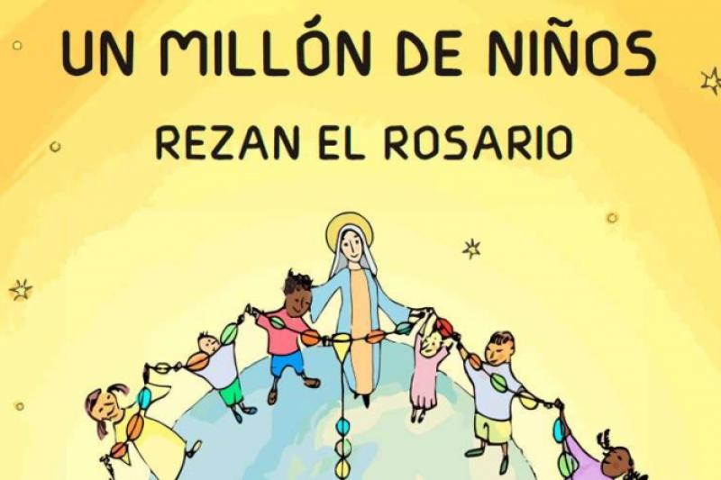 18 de octubre: Un millón de niños rezarán el Rosario
