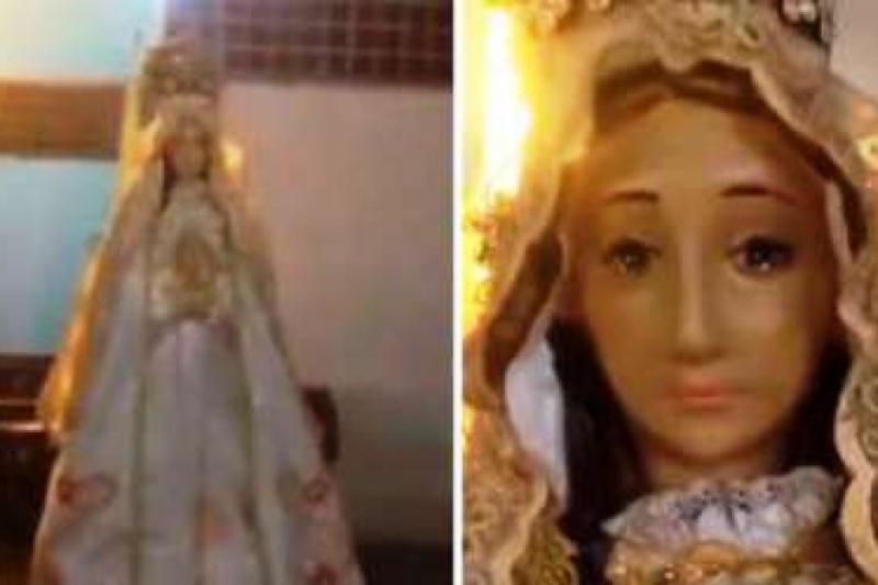 Una imagen de la Virgen María lloró en Venezuela, Diócesis se pronuncia