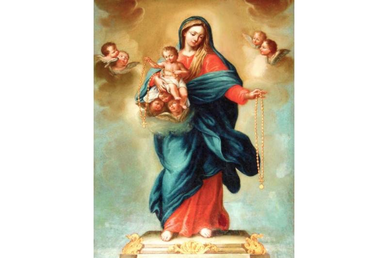 15 promesas de la Virgen para los devotos del Santo Rosario | El ...