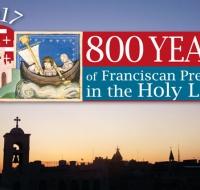 800 años de presencia franciscana en tierra santa