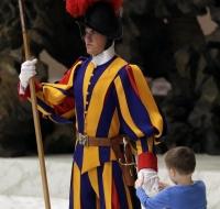 La catequesis del Papa Francisco la dio un niño