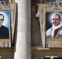 El Papa Francisco proclama santo a Pablo VI