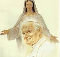 San Juan Pablo II y la Virgen de Fátima