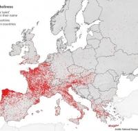 "El ""mapa santo"" de Europa"