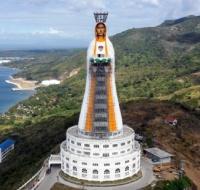 Casi lista la que va a ser la estatua de la Virgen María más alta del mundo