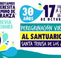 Celebrarán 30 años de la Peregrinación al Santuario de Santa Teresa de Los Andes