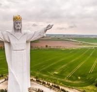 La estatua de Cristo más grande del mundo está en Polonia