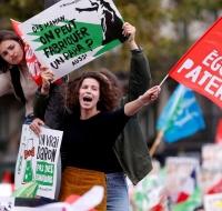 Gran Manifestación en París el 6 de octubre de 2019 por los derechos del niño