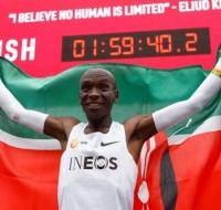 Eliud Kipchoge, récord histórico en maratón y católico devoto