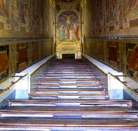 La Escalera Santa, lugar más sagrado de Roma