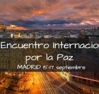 """Este domingo inicia en Madrid el encuentro internacional """"Paz sin Fronteras"""""""