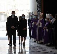 Solemne funeral por las víctimas del coronavirus con la presencia de los Reyes de España