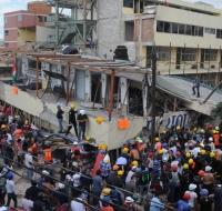 Labores de rescate terremoto México