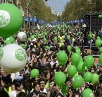 Miles de personas piden en Madrid una legislación que defienda el si a la vida