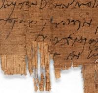 Manuscrito cristiano más antiguo del mundo