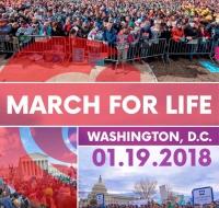 El presidente Trump se dirigirá hoy por videoconferencia a la Marcha por la Vida de Washington