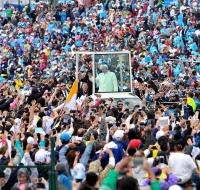 Misa del Papa Francisco en Bogotá