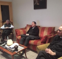 El Cardenal Juan José Omella siguió la Consagración de España y Portugal por televisión