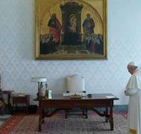 El Papa Francisco reza el Padre Nuestro por el fin del coronavirus